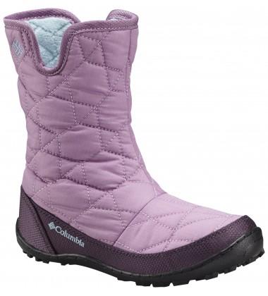 Columbia žiemos batai mergaitei MINX SLIP. Spalva švelniai rožinė