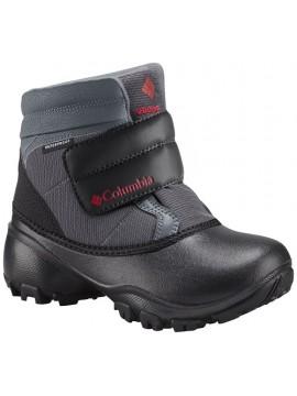 Columbia žiemos batai Rope Tow III KRUSER. Spalva juoda / raudona