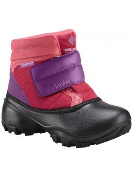 Columbia žiemos batai Rope Tow III KRUSER. Spalva rožinė / violetinė su juodu