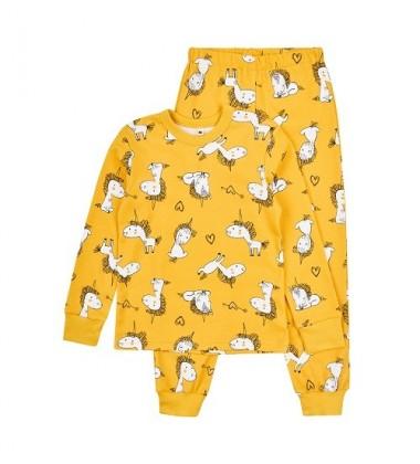 Garnamama vaikiška pižama. Spalva Geltona