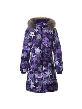 Huppa Žiemos Paltukas Mergaitėms YACARANDA. Spalva violetinė