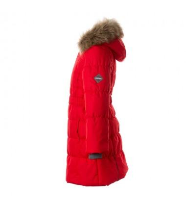 Huppa Žiemos Paltukas Mergaitėms YACARANDA. Spalva raudona