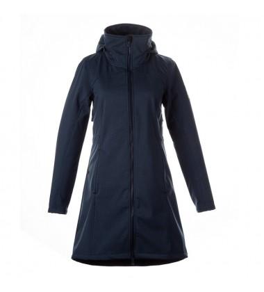 """Huppa demisezoninis """"softshell"""" paltukas mergaitėms AVA. Spalva tamsiai mėlyna"""