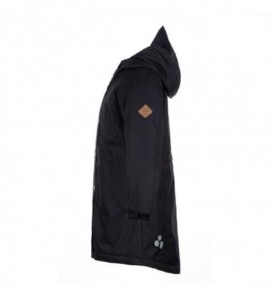 Huppa žiemos moteriška prailginta striukė JANELLE. Spalva juoda