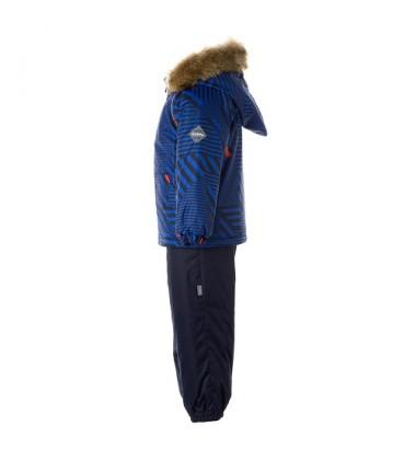 Huppa žiemos komplektas Avery. Spalva mėlyna / tamsiai mėlyna