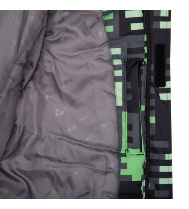 Huppa Žiemos Komplektas Berniukams Dante 1. Spalva žalia su printu / pilka