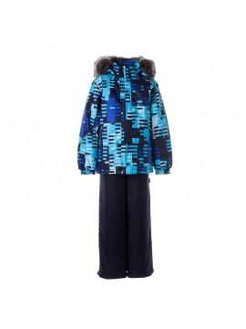 Huppa Žiemos Komplektas Berniukams Dante 1. Spalva mėlyna su printu / tamsiai mėlyna