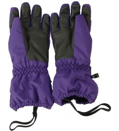 Huppa žiemos pirštinės JOSH. Spalva violetinė
