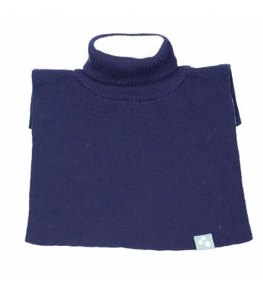 Huppa vilnoninė apykaklė-šalikėlis CORA. Spalva tamsiai mėlyna