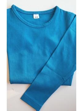 Vaikiška palaidinė ilgomis rankovėmis. Spalva mėlyna