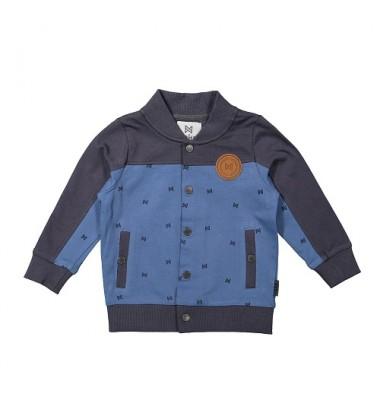 Koko - Noko  džemperis su printu  berniukui. Spalva tamsiai mėlyna/ žydra