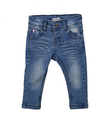 Koko - Noko mergaitiški džinsai. Spalva mėlyna