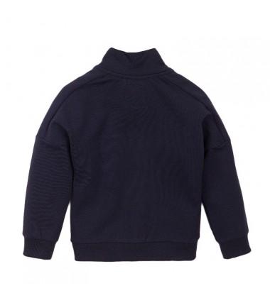 Koko - Noko džemperis su užtrauktuku berniukui. Spalva tamsiai mėlyna