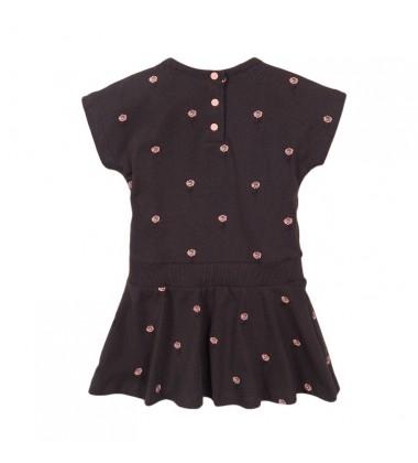 Koko - Noko vaikiška suknelė. Spalva tamsiai pilka