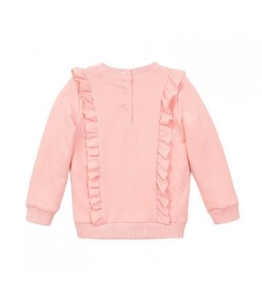 Koko - Noko megztinis mergaitei. Spalva šviesiai rožinė