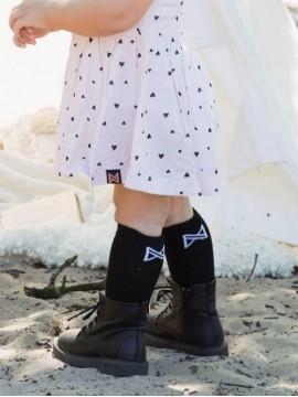 Koko - Noko vaikiškos ilgos kojinės. Spalva juoda