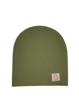 Tuss vaikiška pavasario / vasaros kepurė. Spalva chaki