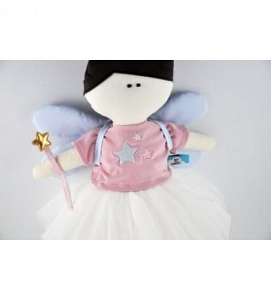 MYtinyHobby lėlytė Princess ( ant suknelės išsiuvinėtos trys žvaigždutės )