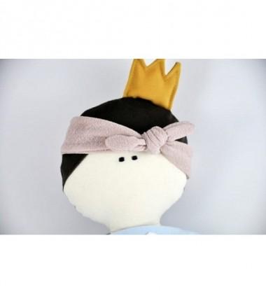 MYtinyHobby lėlytė Princess ( ant suknelės išsiuvinėtas zuikis )