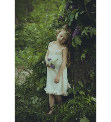 Amiki Children naktinukai mergaitei Delisa. Spalva kreminė
