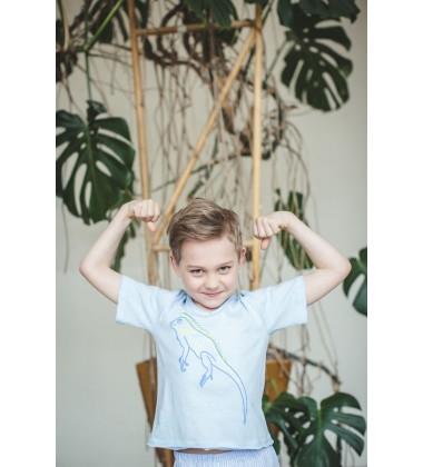 Amiki Children pižama berniukams Leon. Spalva žydra