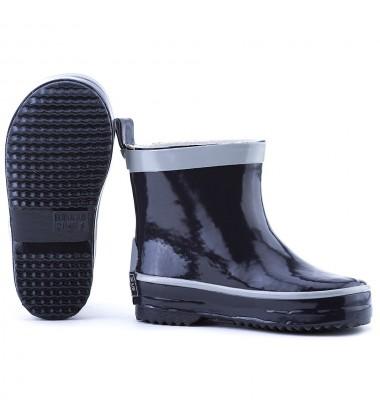 Playshoes patrumpinti guminiai botai. Spalva tamsiai mėlyna