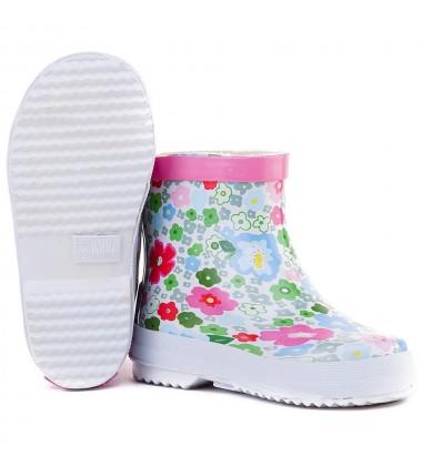 """Playshoes guminiai botai. Spalva """"gėlėtas printas"""""""