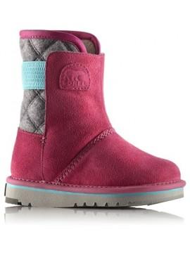 Sorel rudens batai mergaitėms Newbie. Spalva rožinė