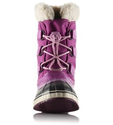 Sorel žiemos batai Yoot Pac Nylon. Spalva rožinė