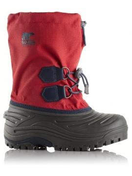 Sorel sniego batai SUPER TROOPER™. Spalva raudona