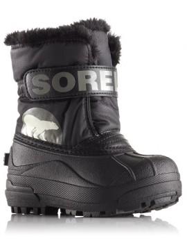 Sorel žiemos batai Snow Commander. Spalva juoda