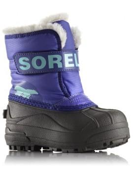 Sorel žiemos batai Snow Commander. Spalva violetinė