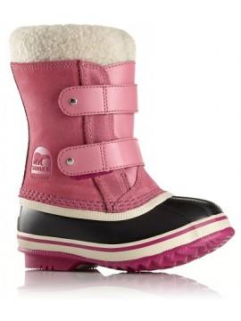 Sorel žiemos batai PAC STRAP. Spalva rožinė