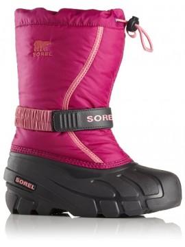 Sorel žiemos batai FLURRY. Spalva avietinė 2018