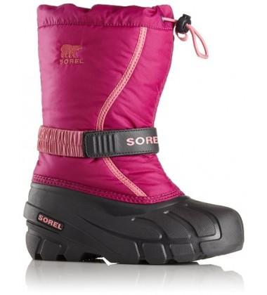 Sorel žiemos batai FLURRY. Spalva avietinė