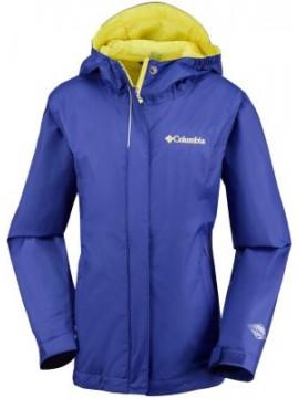 Columbia lietaus striukė Arcadia. Spalva violetinė