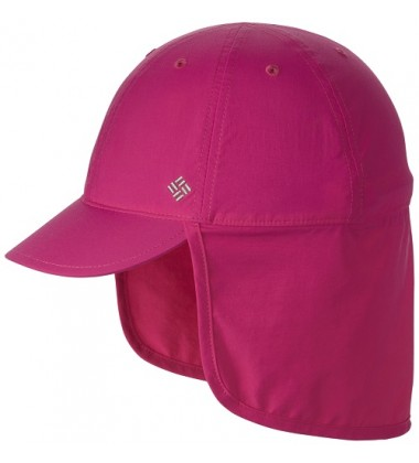 Columbia vasaros kepurė Junior Cachalot. Spalva ryškiai rožinė
