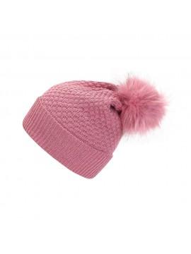Skogstad kepurė rudeniui / žiemai mergaitei Kongsberg. Spalva rožinė