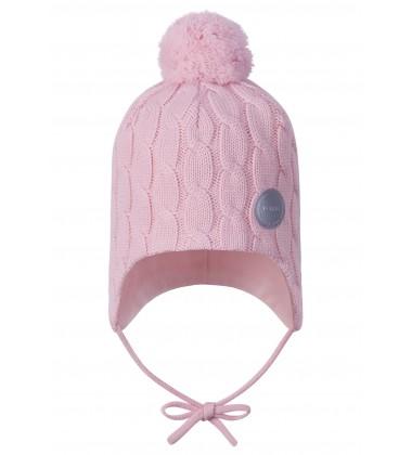 Reima žiemos kepurė Nunavut. Spalva šviesiai rožinė