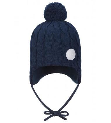 Reima žiemos kepurė Nunavut. Spalva tamsiai mėlyna