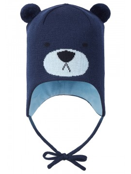 Reima žiemos kepurė SAUKKONEN. Spalva tamsiai mėlyna