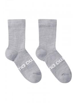 Reima termo kojinės Liki su merino vilna. Spalva šviesiai pilka