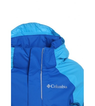 Columbia lietaus striukė WESTHILL PARK. Spalva mėlyna / šviesiai žydra