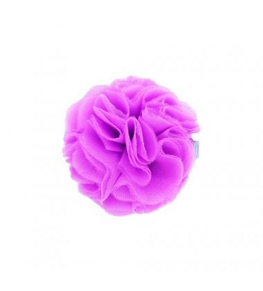 Manufaktura Falbanek segtukas su pomponu. Spalva violetinė