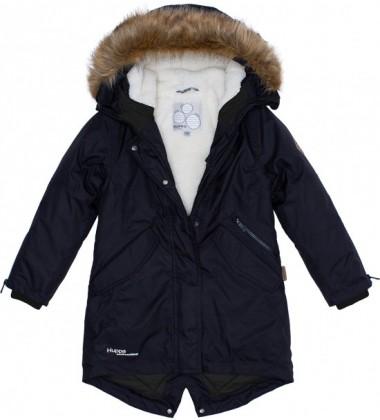 Huppa žiemos moteriška striukė - paltukas VIVIAN. Spalva juoda