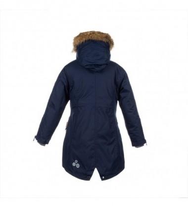 Huppa moteriška žiemos striukė - paltukas VIVIAN. Spalva tamsiai mėlyna