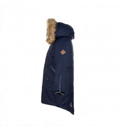 Huppa žiemos striukė - paltukas VIVIAN. Spalva tamsiai mėlyna