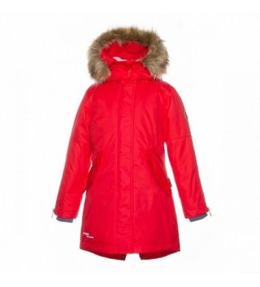 Huppa žiemos moteriška striukė - paltukas VIVIAN. Spalva raudona