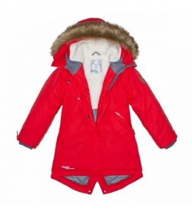 Huppa žiemos striukė - paltukas VIVIAN. Spalva raudona