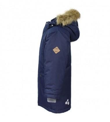 Huppa vyriška žiemos striukė VESPER. Spalva tamsiai mėlyna